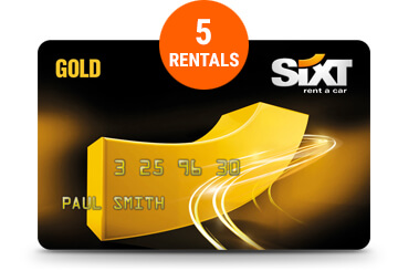 Sixt Business Gold Card