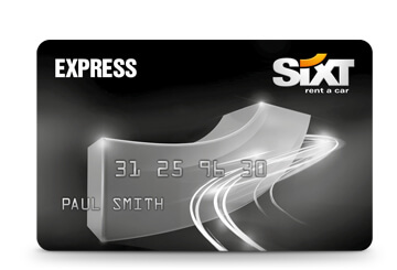 Sixt Express Gold Card